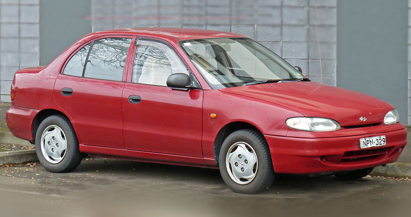1st Generation Hyundai Accent At A Glance